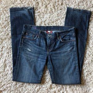 Lucky Brand Jeans, Sundown straight leg